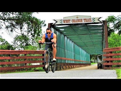 Biking Adventure - Tour Of The West Orange Trail & Winter Garden, FL