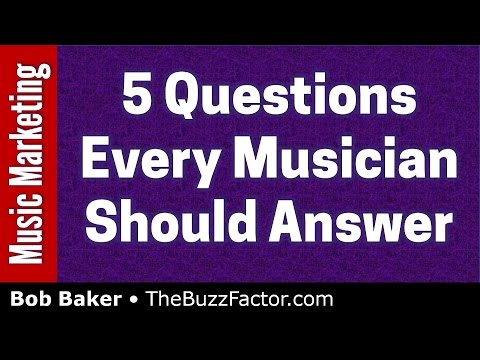 Music Career Advice: 5 Questions Every Musician Should Answer