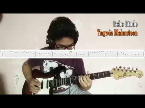 Yngwie Malmsteen - Echo Etude (Guitar Cover) Demonstration by Mario Arnoldi