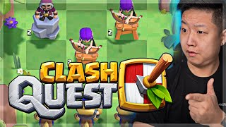 Clash Quest JUST LAUNCHED (beta)