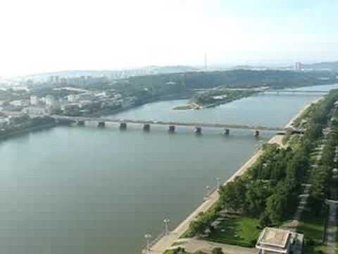 360 Degree View from the Juche Tower