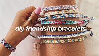 DIY FRIENDSHIP BRACELETS // ADVANCED