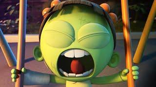 Spookiz | Scary Swing Sprungherausforderung | Cartoon für Kinder | WildBrain