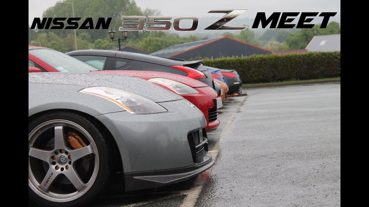 Nissan 350Z Meet Wales 2014 - YouTube