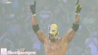 """wwe kalisto and rey mysterio """"shape of you"""" thumbnail"""