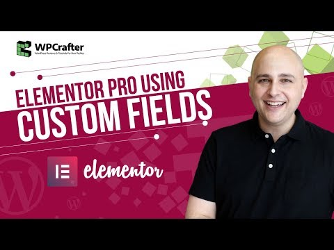 How To Use Custom Fields With Elementor Pro v2 – Next Level WordPress