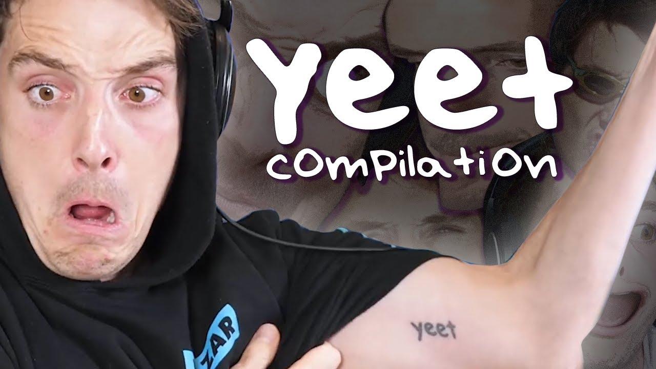 Lazarbeam Yeet Compilation Many Yeets Said Youtube