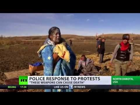 'They will kill if necessary': Historian scolds crackdown Of DAPL protest (VIDEO)