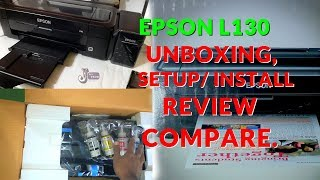 Cheap & Best Printer Epson L130 InkTank Unboxing and Review (Hindi)