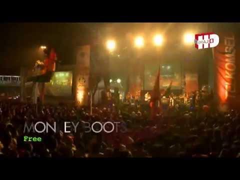 Monkey Boots - FREE   Jakarta Night Festival 2014 - HD720p