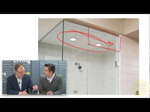 How To Design A Steam Shower Youtube