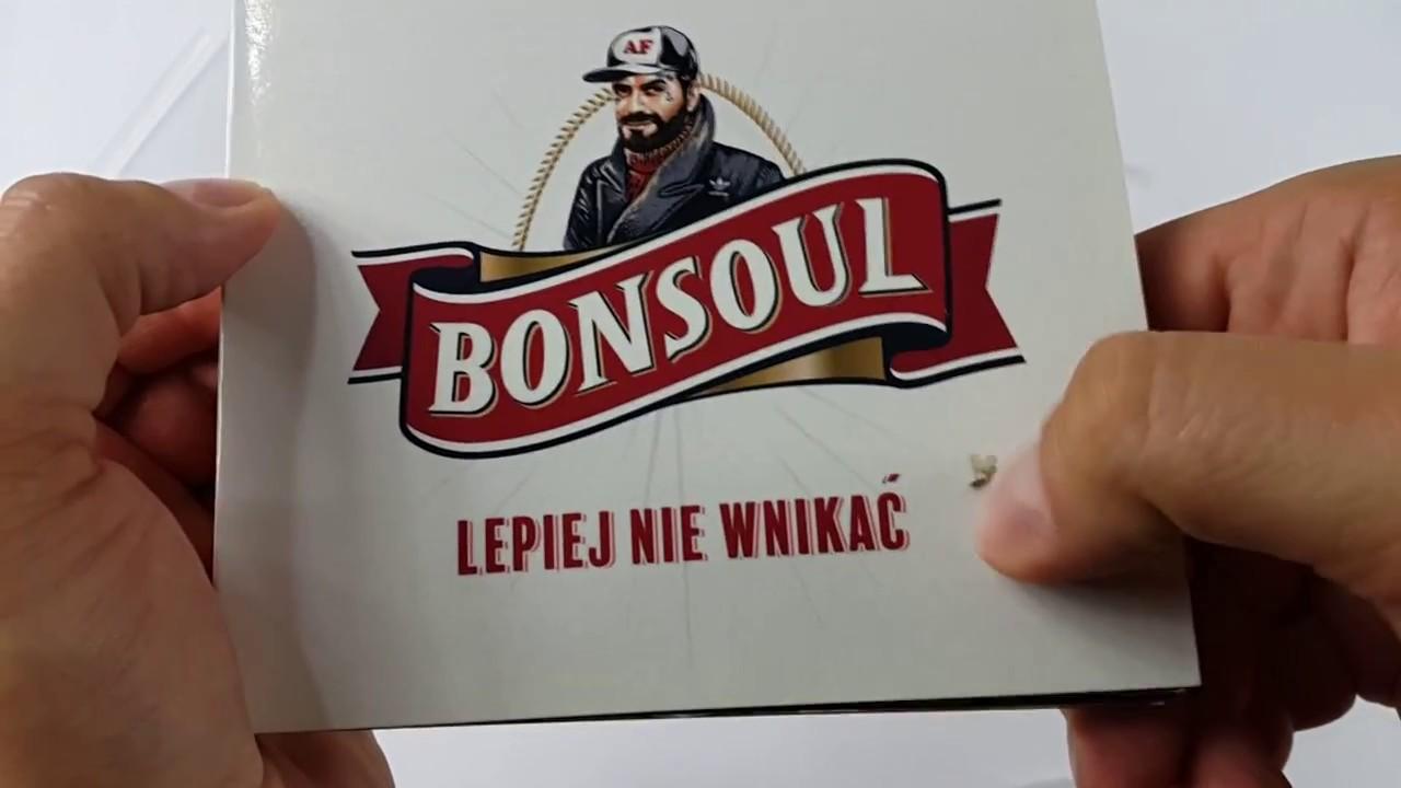 """Unboxing: BONSOUL """"LEPIEJ NIE WNIKAĆ"""" EDYCJA LIMITOWANA"""