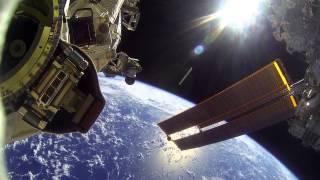 NASA GoPro footage from EVA 30