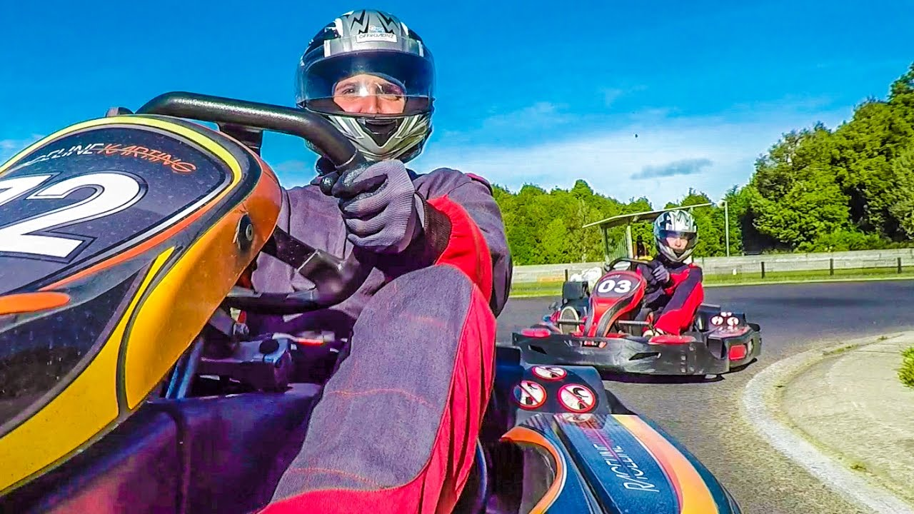 1880 no kart RACING 100MPH GO KARTS! w/ Sam, Colby & Corey   YouTube 1880 no kart