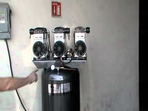 COMPRESOR DENTAL TRIPLEX 4.5 HP  220V Videos De Viajes