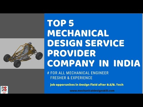 TOP 5 MECHANICAL DESIGN SERVICE PROVIDER COMPANY I HOW TO APPLY  I FOR MECHANICAL ENGINEER I ENGLISH