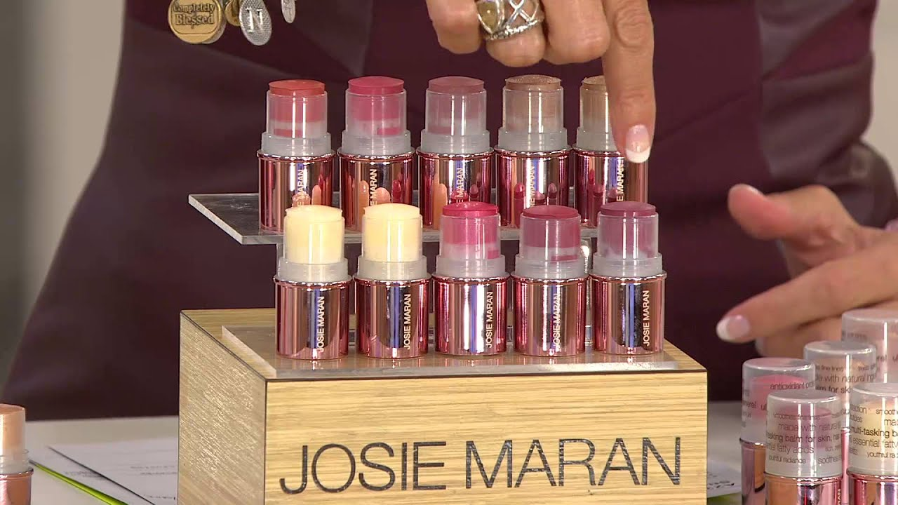 Josie Maran Set of 10 Argan Color Stick Blockbuster Kit ...