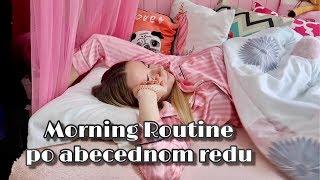 Morning routine po abecednom redu