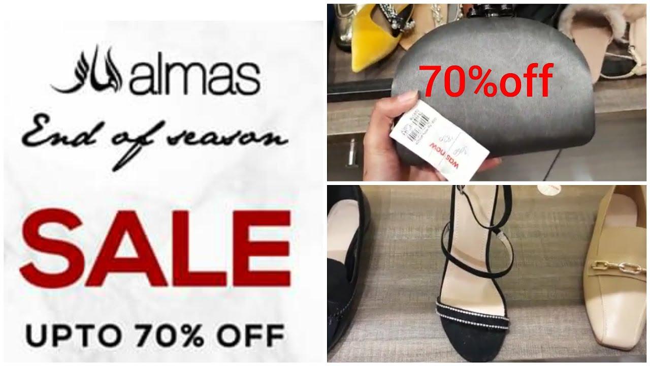 Almas shoes End of season sale upto 70