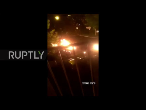 France: Protesters launch Molotov cocktails at cars following teen's traffic death