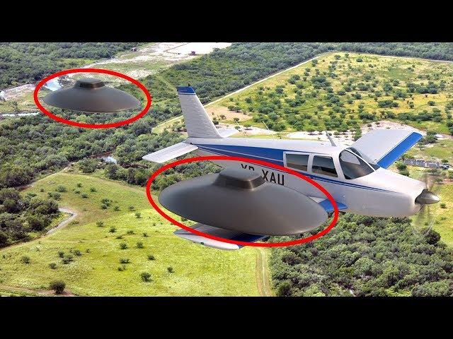 6 Lần Máy Bay Chạm Trán UFO