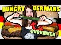 7 Kinds of HUNGRY GERMANS - feat. a cucumber