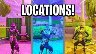 "Fortnite ""Dance under different Streetlight Spotlights"" Emplacements Semaine 1 Battle Pass Challenge Guide"