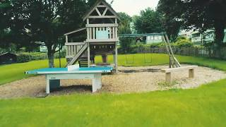 CARAVANS & PLAY AREA - Langstone Manor Holiday Park