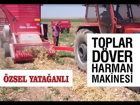 Collector Harvestor Treshing Machine - Özsel Yatağanlı