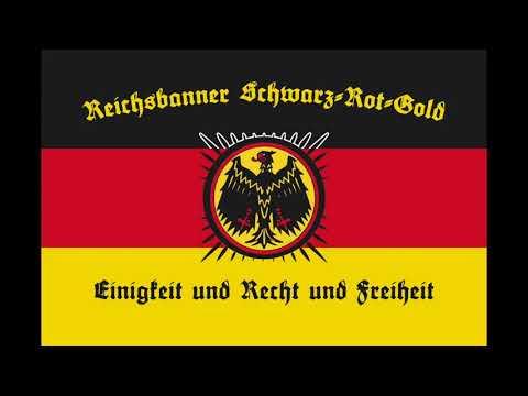 flaggen-marsch-schwarz-rot-gold---reichsbanner-marsch-(hq)