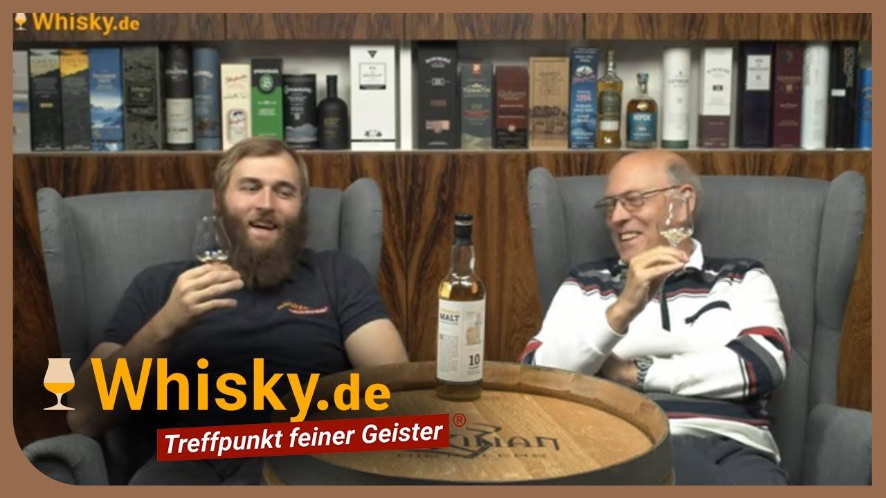 Whisky De Malt Von Horst Luning 10 Jahre Unser Zweiter Eigener Whisky Youtube