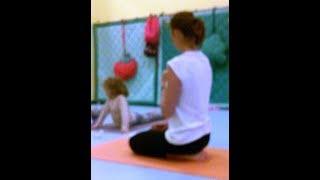 Yoga Bimbi - lezione  3 ottobre 2017