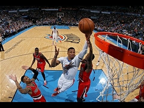Russell Westbrook Records His 12th Triple-Double Of The Season