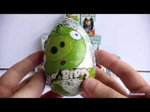 28 Suprise Eggs Turkey Monster Inc Angry Birds