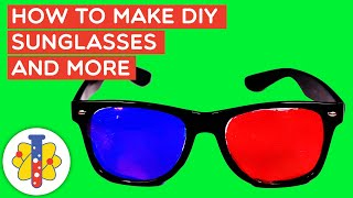How To Make 3D Glasses At Home | Life Hacks & DIY Science Experiments