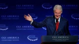 Bill addresses Clinton Foundation allegations