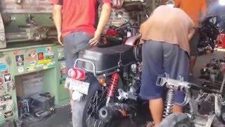 Tips Modifikasi Mesin Motor Honda CB 100 Jadi Lebih Garang