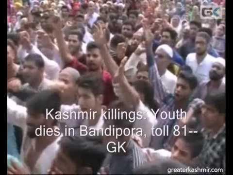 Kashmir killings: Youth dies in Bandipora, toll 81