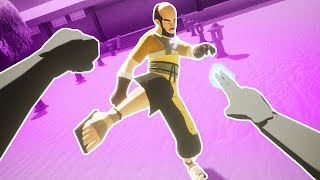 I AM THE VR KUNG FU MASTER in Kungfucious VR!