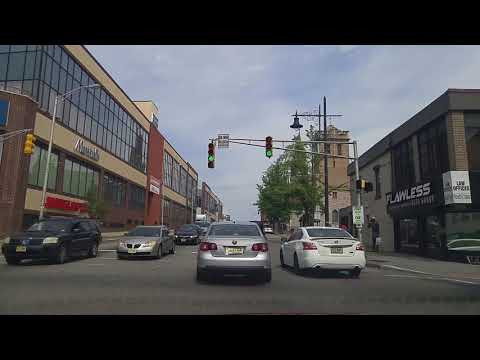 Driving By Downtown Paterson In New Jersey
