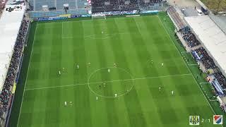 Slezský FC OPAVA - BANÍK OSTRAVA - 4K (11.11. 2018) dronem