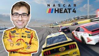 NASCAR HEAT 4 - Início de Gameplay: Modo Campanha + Desafios!