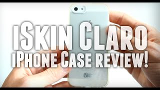 iSkin Claro iPhone 5/5S Case! (Review)