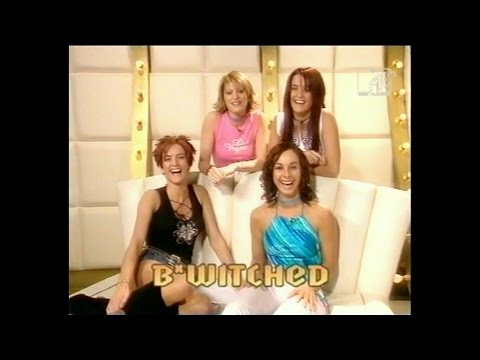 B*Witched - Guest Hosting MTV Select March 2000