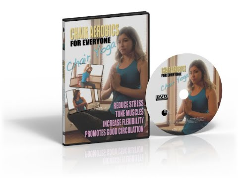 Chair Aerobics For Everyone - Chair Yoga - YouTube