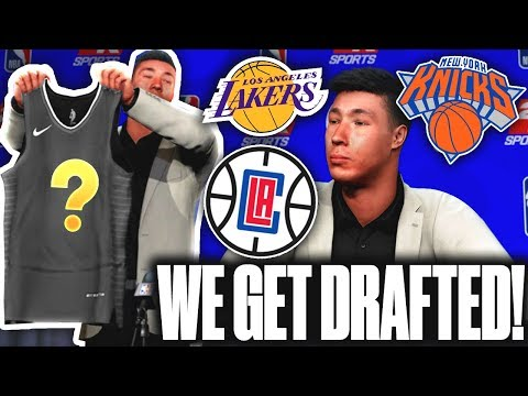 WE GOT DRAFTED! WHICH NBA TEAM SIGNED US!? 2K20 MyCareer Ep.4