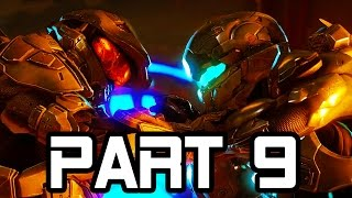 Halo 5 Gameplay Walkthrough Part 9 MASTER CHIEF VS LOCKE Mission 6