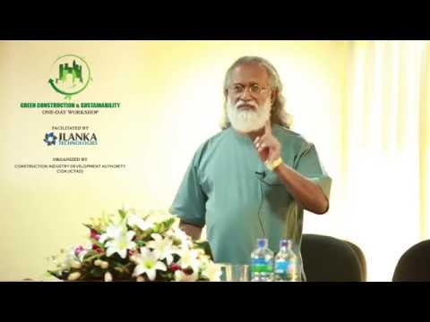 """""""Green concept and its importance"""" by Prof. Sarath Kotagama at the JLANKA-CHPB Workshop"""