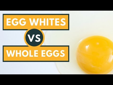Egg White-colored Diet Much Better Than Whole Eggs
