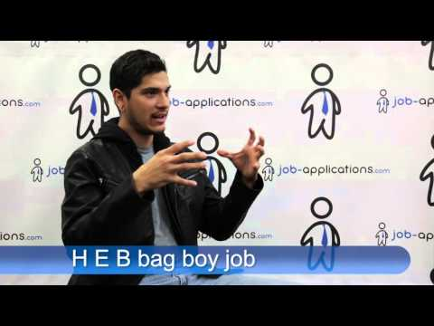 H E B  Interview - Bag Boy